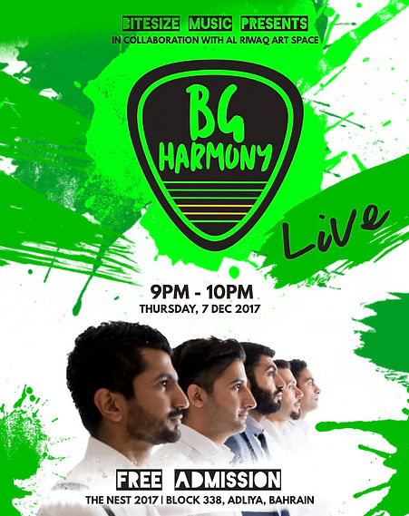 BG Harmony Live at The Nest 2017
