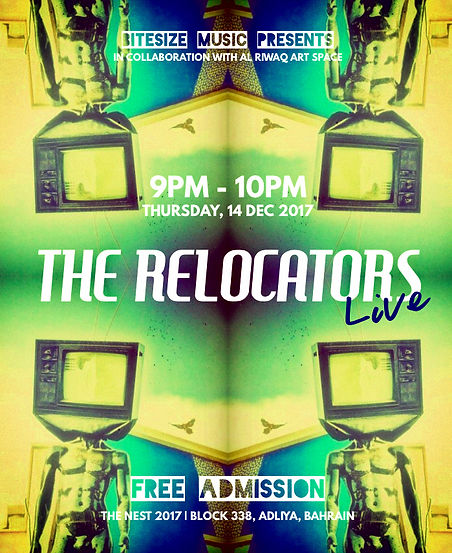 The Relocators Live at The Nest 2017