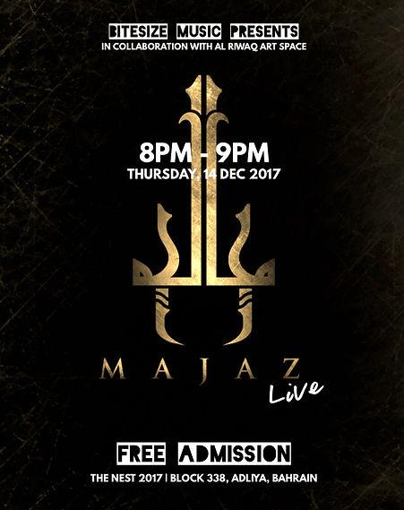 Majaz Live at The Nest 2017