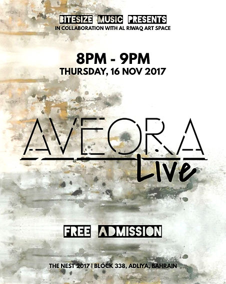 Aveora Live at The Nest 2017