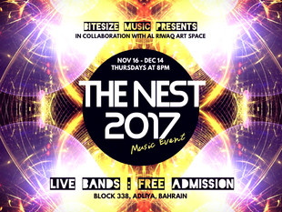 Bitesize Music Appointed for The Nest 2017