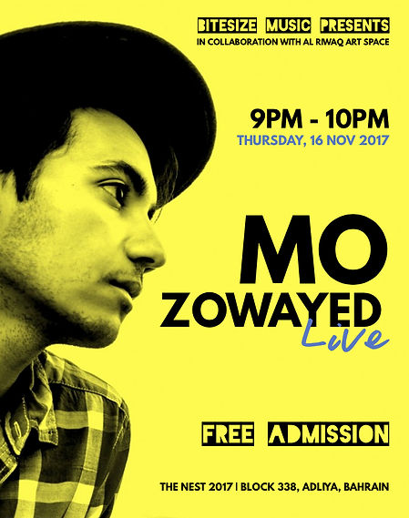 Mo Zowayed Live at The Nest 2017