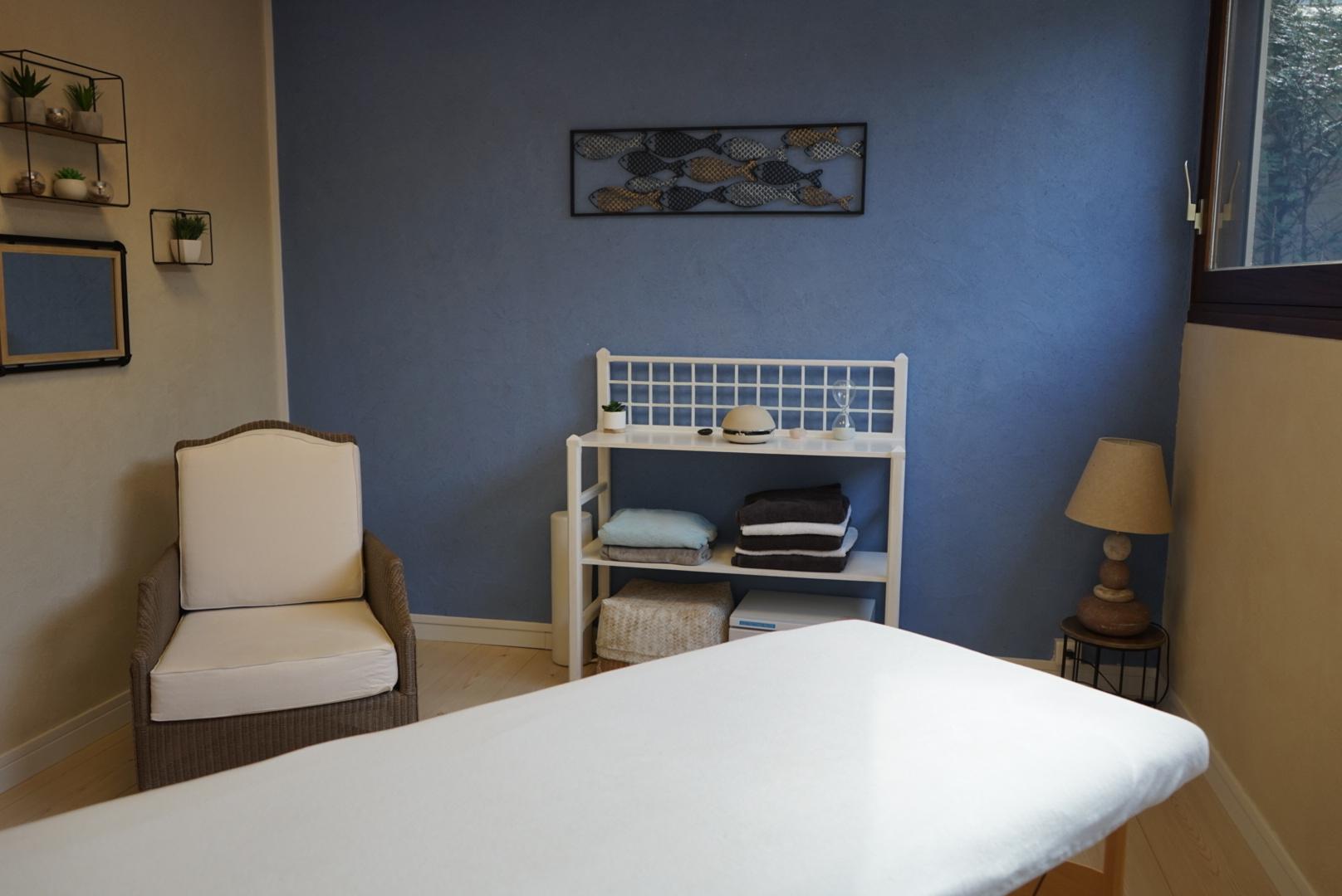 Salle massage bien-être