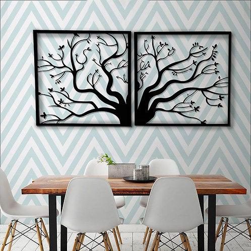 Árbol dos ramas