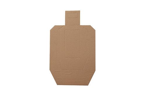 siluetas de carton idpa ipsc 25 pz
