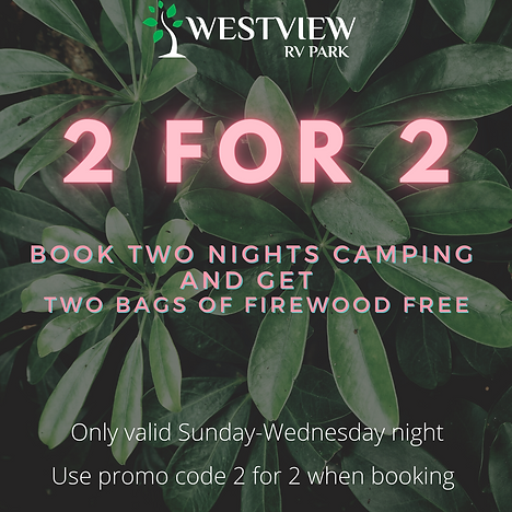 westview rv park 2 for 2