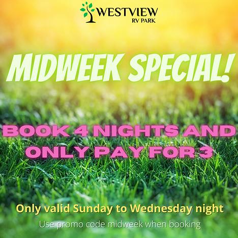 westview rv park midweek special