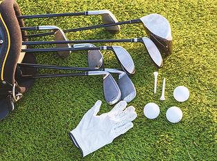 L'équipement pour jouer au golf