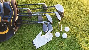 Utstyr for å spille golf