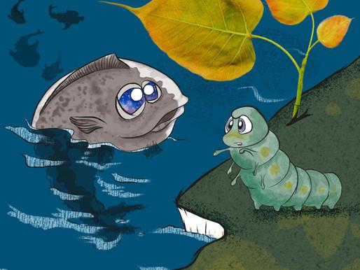 1- Alibut: il bruco che credeva di essere un pesce