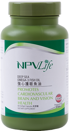NPVLife 強心護眼魚油 (60粒軟膠囊)(EAN: 840011720029)