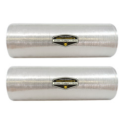 2 Pack of Mighty Gadget Lightweight Stretch Wrap Film 18_ x 1500' 3