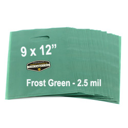 Mighty Gadget Frost Green Translucent Merchandise Bags 3