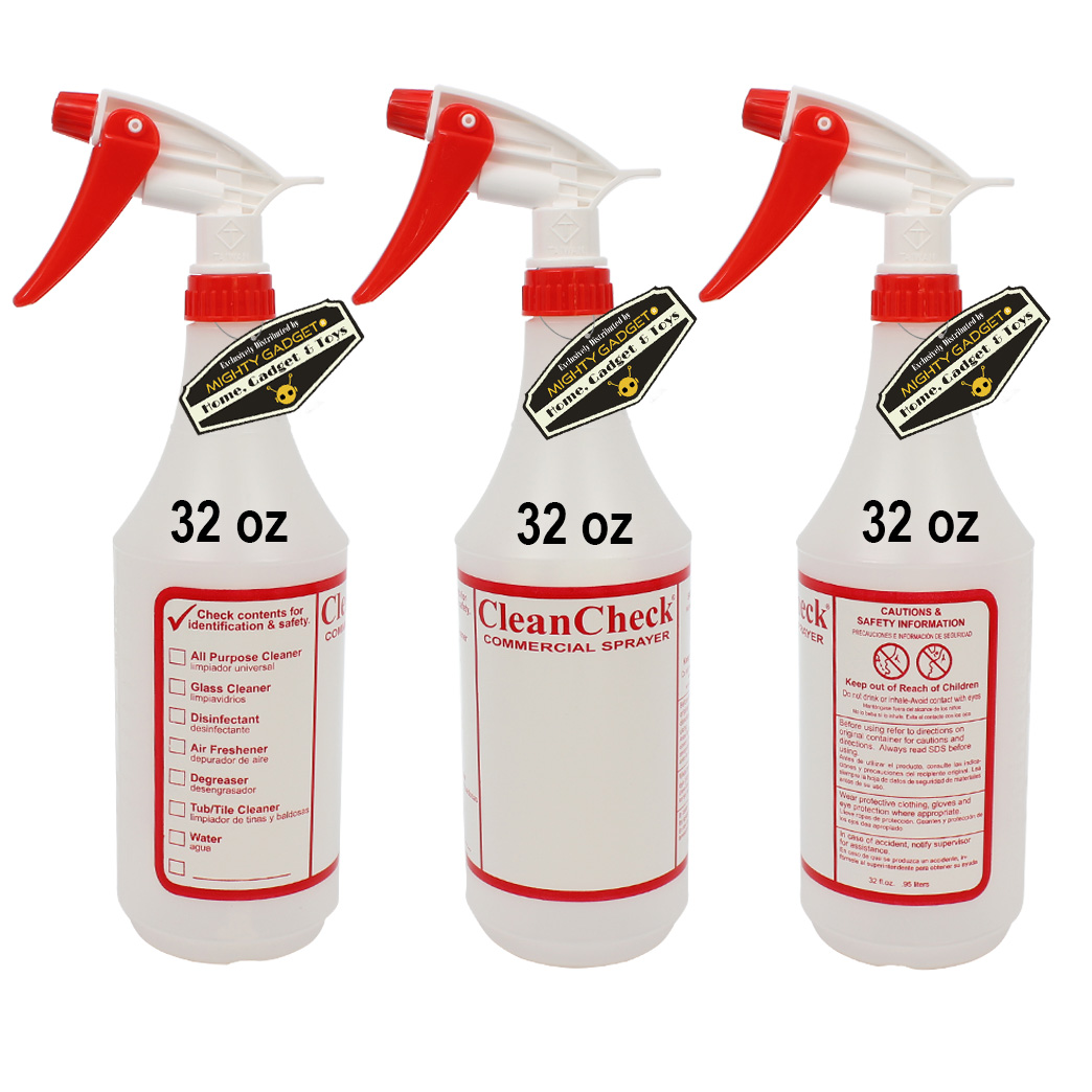 Mighty Gadget 3 x 32 oz Premium Empty Sprayer Bottles 1