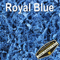 Mighty Gadget Crinkle Paper Royal Blue