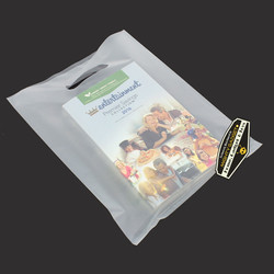 Mighty Gadget Frost Clear Translucent Merchandise Bags 3