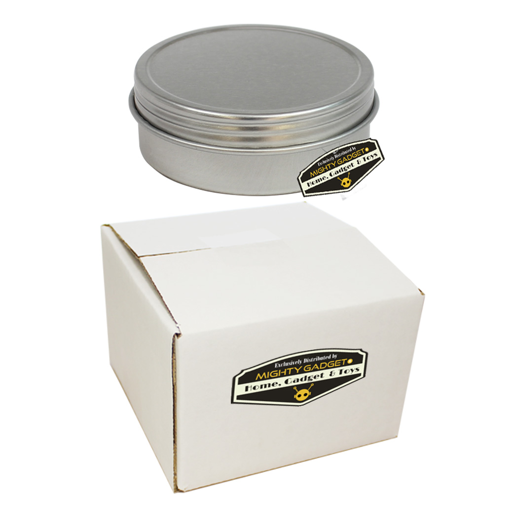 Mighty Gadget Tin Can Box 4 oz