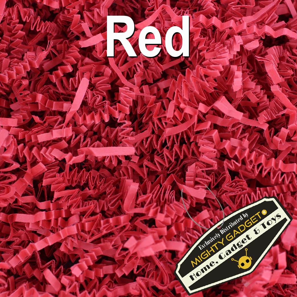 Mighty Gadget Crinkle Paper Red