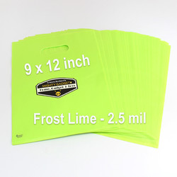 Mighty Gadget Frost Lime Translucent Merchandise Bags 4