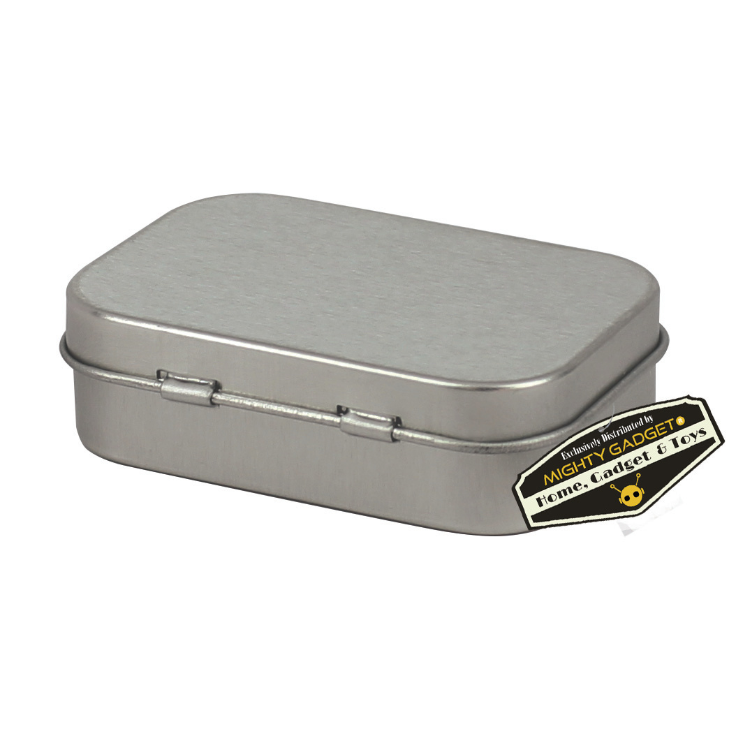 Mighty Gadget Empty Survival Tin Storage Mini 4
