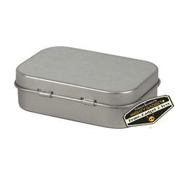 Mighty Gadget Empty Survival Tin Storage Mini 4
