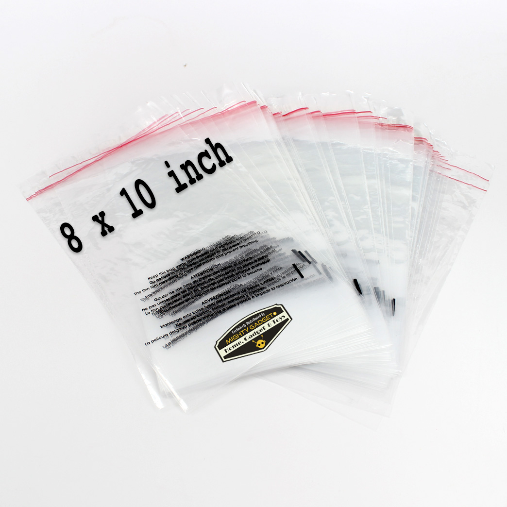 Mighty Gadget 8x10 Self Sealing Suffocation Warning Bags 3