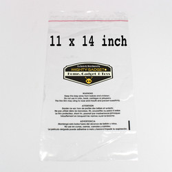 Mighty Gadget 11x14 Self Sealing Suffocation Warning Bags