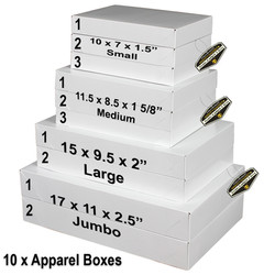 Mighty Gadget 4 Sizes Apparel Boxes Combo 5