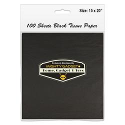Mighty Gadget 15 x 20 Black Tissue Paper Sheets 2 copy copy