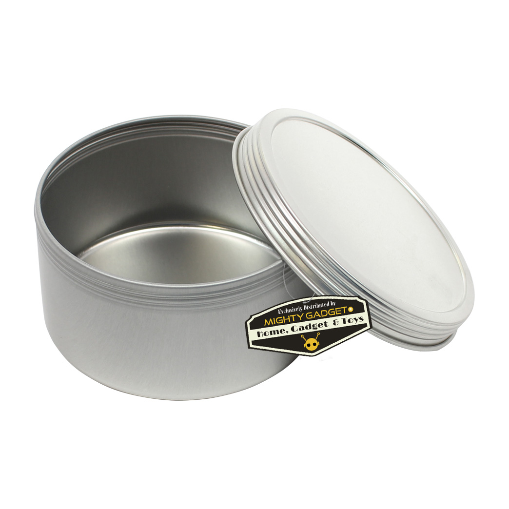Mighty Gadget 1 x 10 oz Deep Screw Top Tins 2