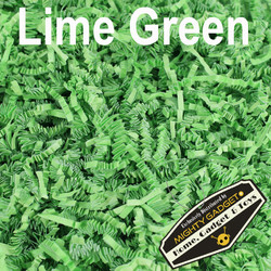 Mighty Gadget Crinkle Paper Lime Green