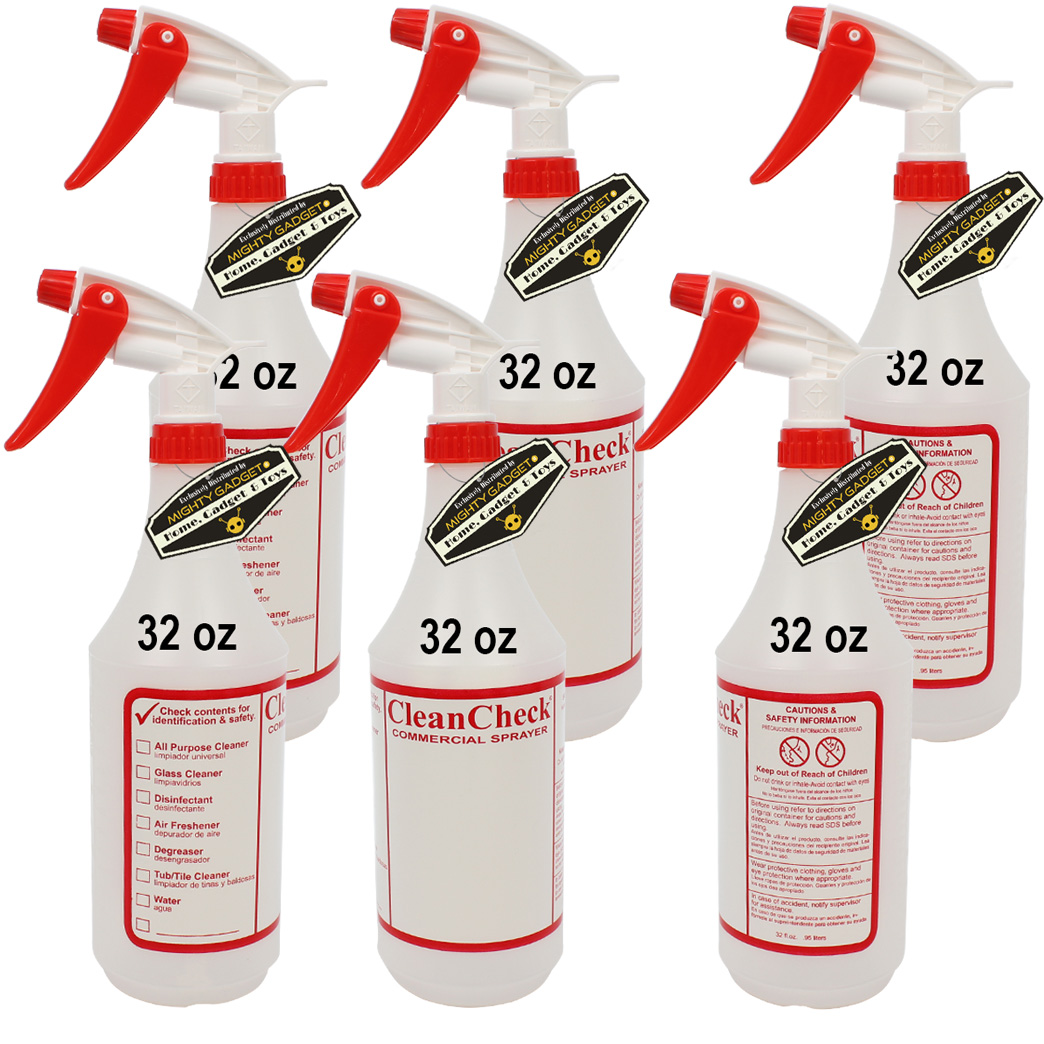 Mighty Gadget 6 x 32 oz Premium Empty Sprayer Bottles 1