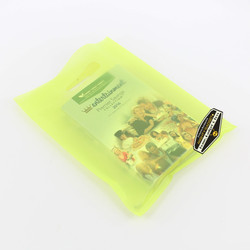 Mighty Gadget Frost Lime Translucent Merchandise Bags 3