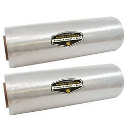 2 Pack of Mighty Gadget Lightweight Stretch Wrap Film 18_ x 1500' 2