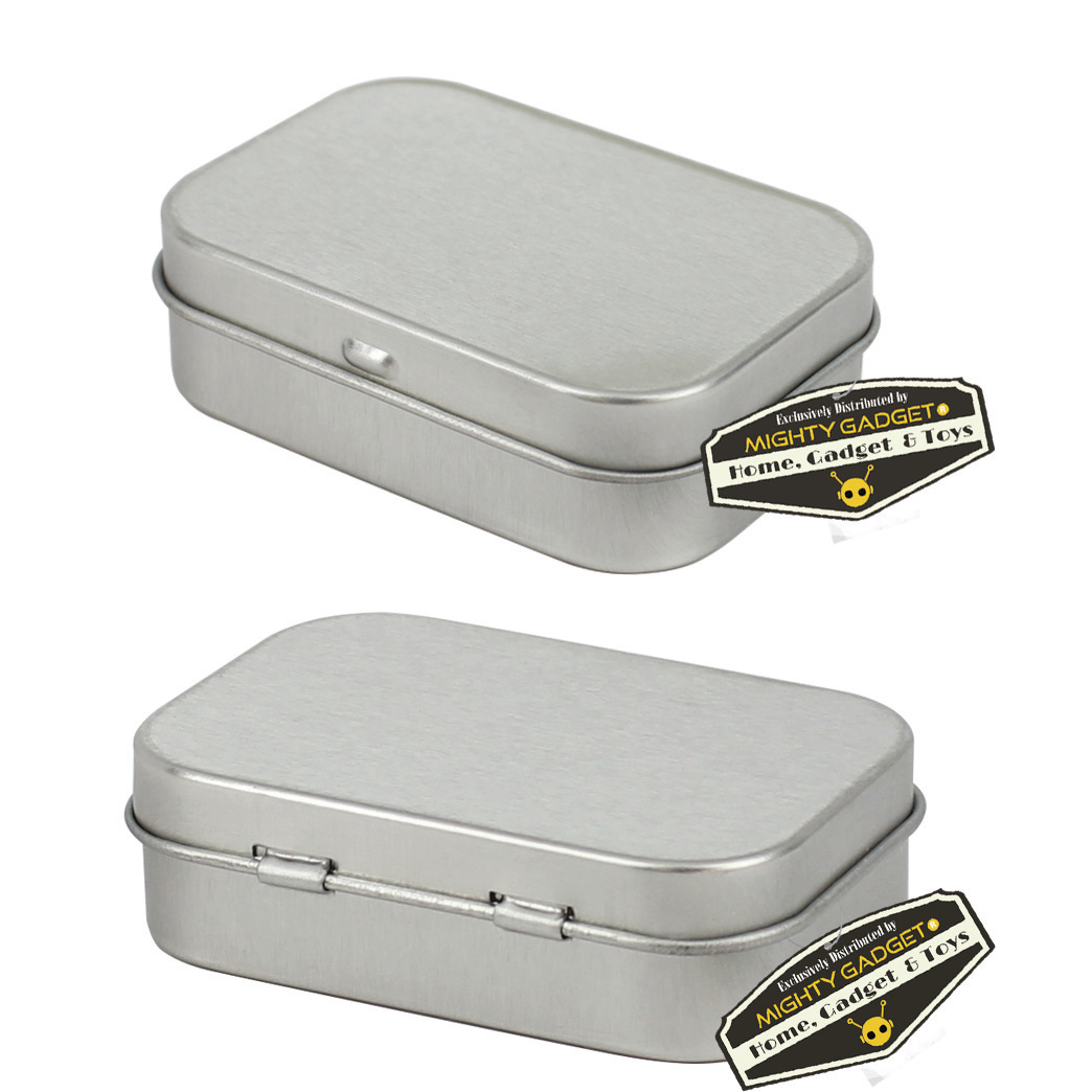 Mighty Gadget Empty Survival Tin Storage Mini 3