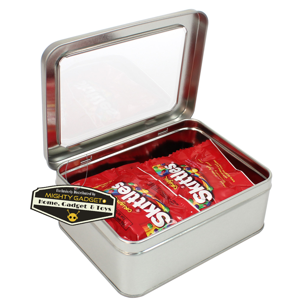Mighty Gadget 5.625 x 4.25 Rect Window Top Tins 1