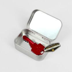 Mighty Gadget Empty Survival Tin Storage Mini 2