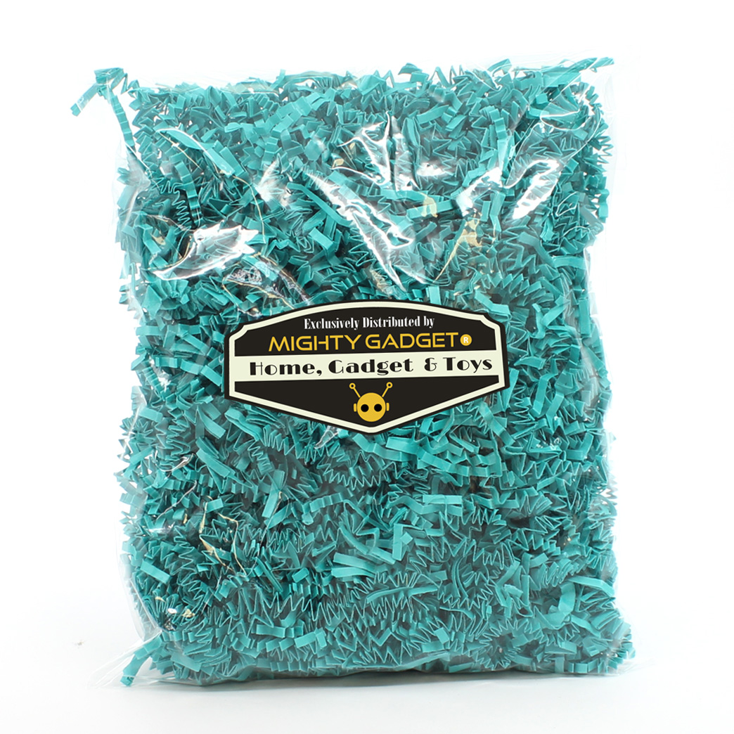 Mighty Gadget Crinkle Paper Turquoise 2