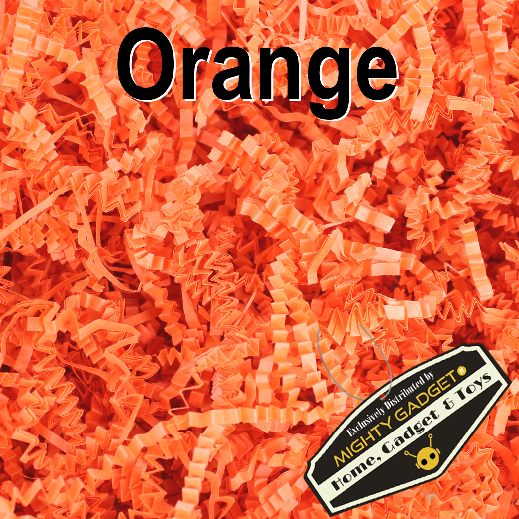 Mighty Gadget Crinkle Paper Orange