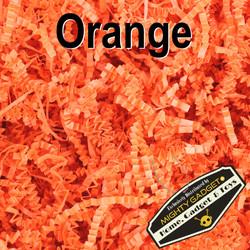 Mighty Gadget Crinkle Paper Orange