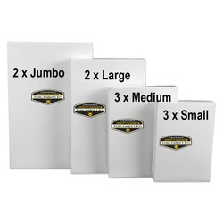 Mighty Gadget 4 Sizes Apparel Boxes Combo 4