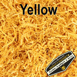 Mighty Gadget Crinkle Paper Yellow