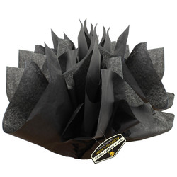 Mighty Gadget 15 x 20 Black Tissue Paper Sheets 1