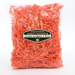Mighty Gadget Crinkle Paper Orange 2