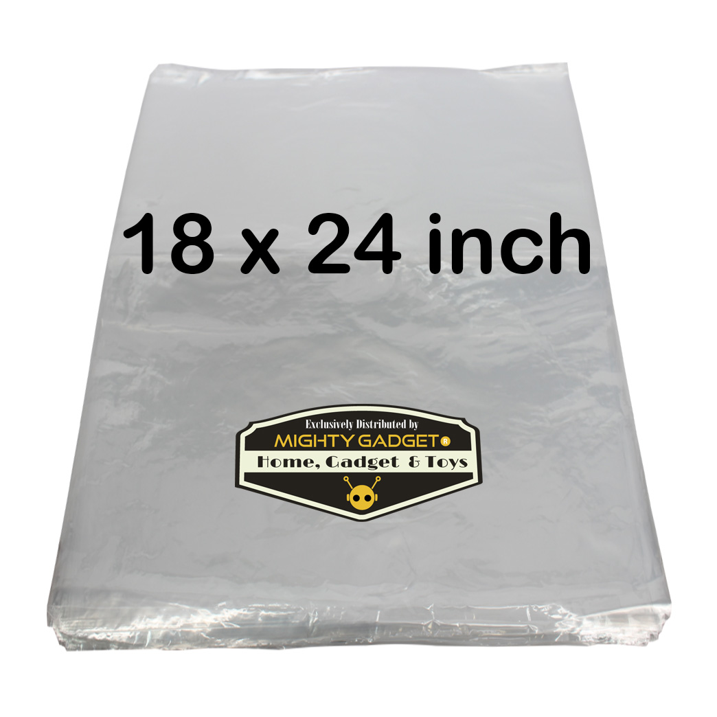 Mighty Gadget 18x24_ 1 Mil Flat Poly Bag