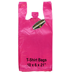 Mighty Gadget Pink T Shirt Bags