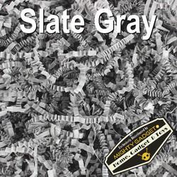 Mighty Gadget Crinkle Paper Slat Gray