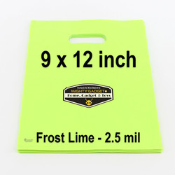 Mighty Gadget Frost Lime Translucent Merchandise Bags 2