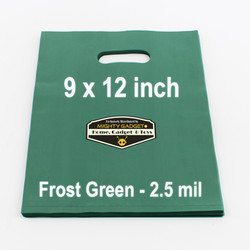 Mighty Gadget Frost Green Translucent Merchandise Bags 2