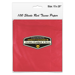 Mighty Gadget 15 x 20 Red Tissue Paper Sheets 2